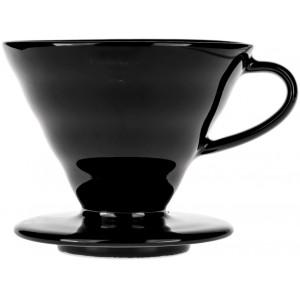 Пуровер Hario V60 02 керамічний чорний