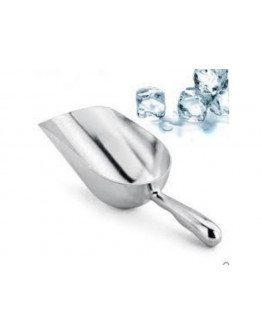 Ice scoop aluminum 150 ml.