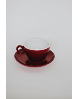 Luna Inker Cup with saucer 350 ml