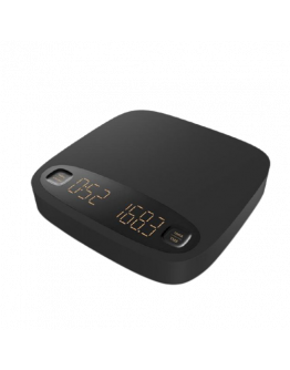 B.A.R. Black Bird Digital coffee scales with timer, 4 programs in a silicone case