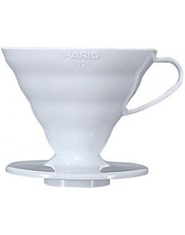 Пуровер Hario V60 02 керамічний білий