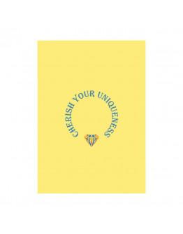 """Poster """"Cherish your uniqueness/Берег свою уникальность"""""""