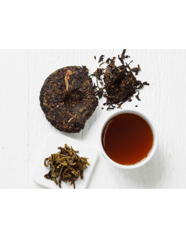 Shu Pu-Erh. Fossil First Flush 2016